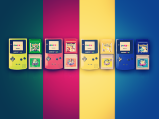 童年游戏机图片创