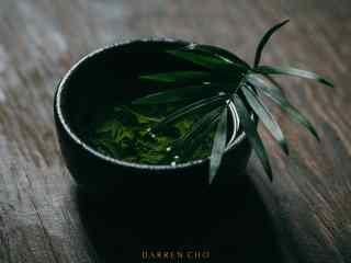 茶文化—小清新绿茶桌面壁纸