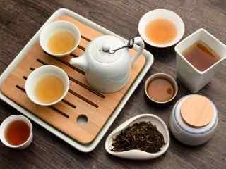 茶文化—小清新茶叶炮制过程图片
