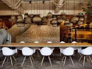 小清新唯美咖啡馆桌面壁纸