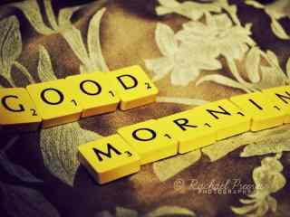 早安励志唯美高清壁纸桌面