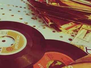 怀念旧时光复古旧物老唱片高清壁纸