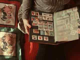 怀念旧时光复古旧物邮票高清壁纸