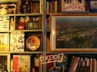 怀念旧时光复古旧物书房高清壁纸
