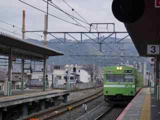 奈良火车日系唯美