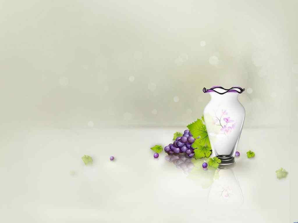 紫色瓶子静物ppt背景图片_静物壁纸