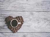 小清新咖啡创意超