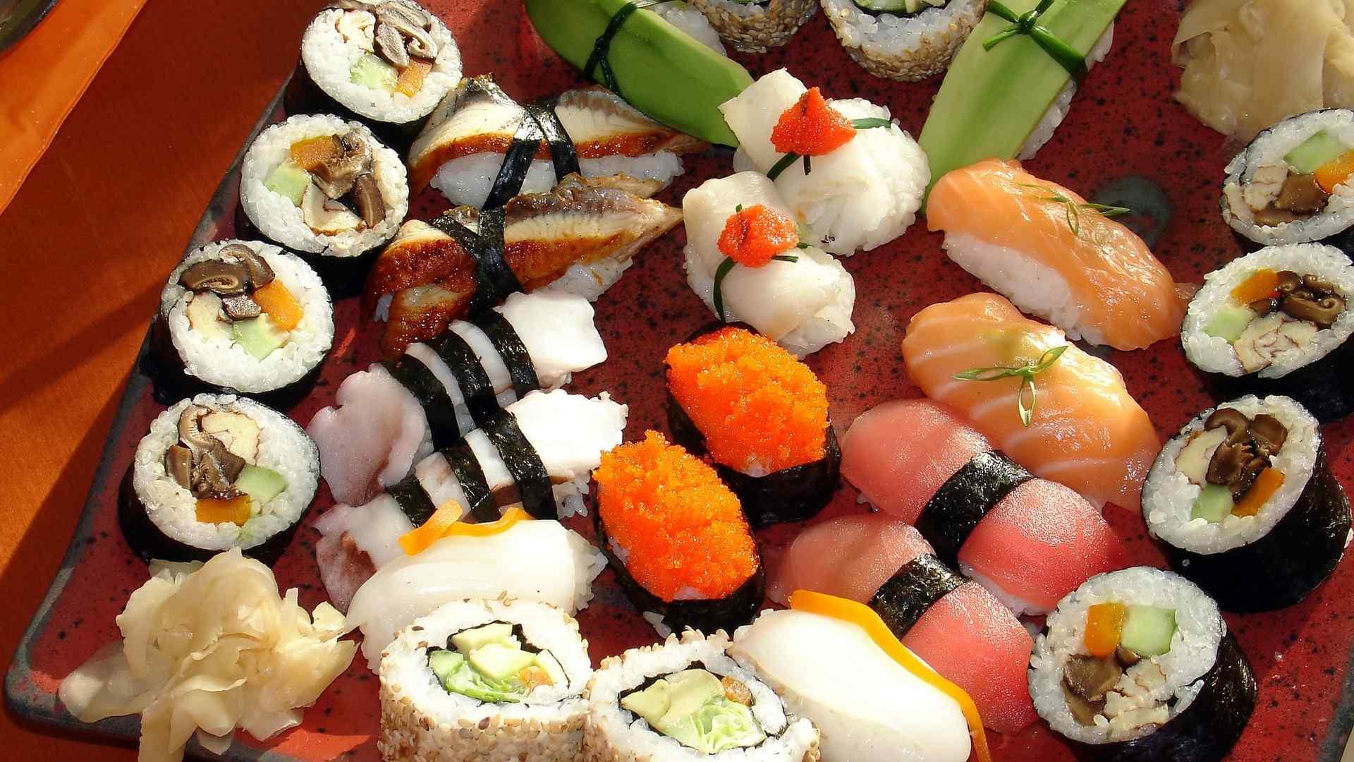 日本寿司壁纸图片