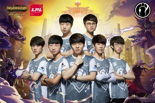 亚洲对抗赛LPL赛区IG战队定妆照