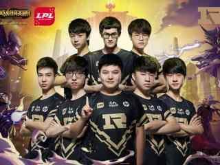 亚洲对抗赛LPL赛区RNG战队定妆照