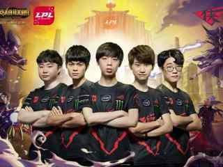 亚洲对抗赛LPL赛区RW战队定妆照