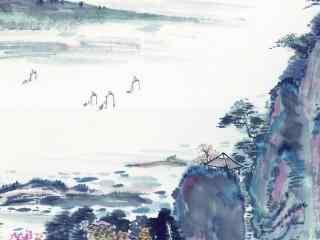 手绘中国风壁纸