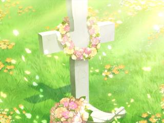 不败世界与终焉之花唯美动漫壁纸