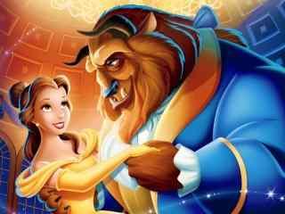 迪士尼美女与野兽动画壁纸