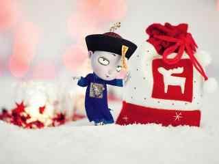 僵小鱼送你新年大红包桌面壁纸