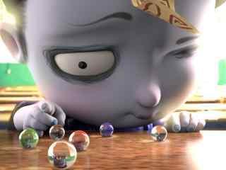 僵小鱼童年系列弹珠桌面壁纸