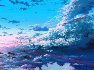 唯美创意手绘天空高清壁纸