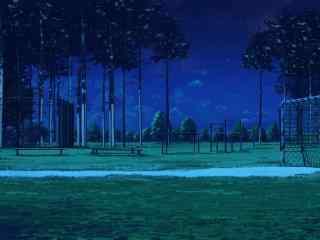 动漫意境场景之夏日夜晚风景