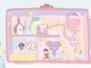 可爱儿童节图片之手绘壁纸