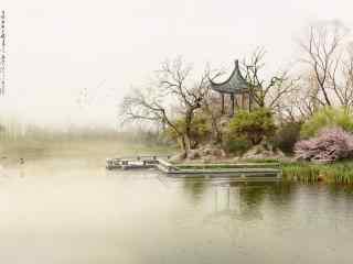 自然风景手绘风景壁纸