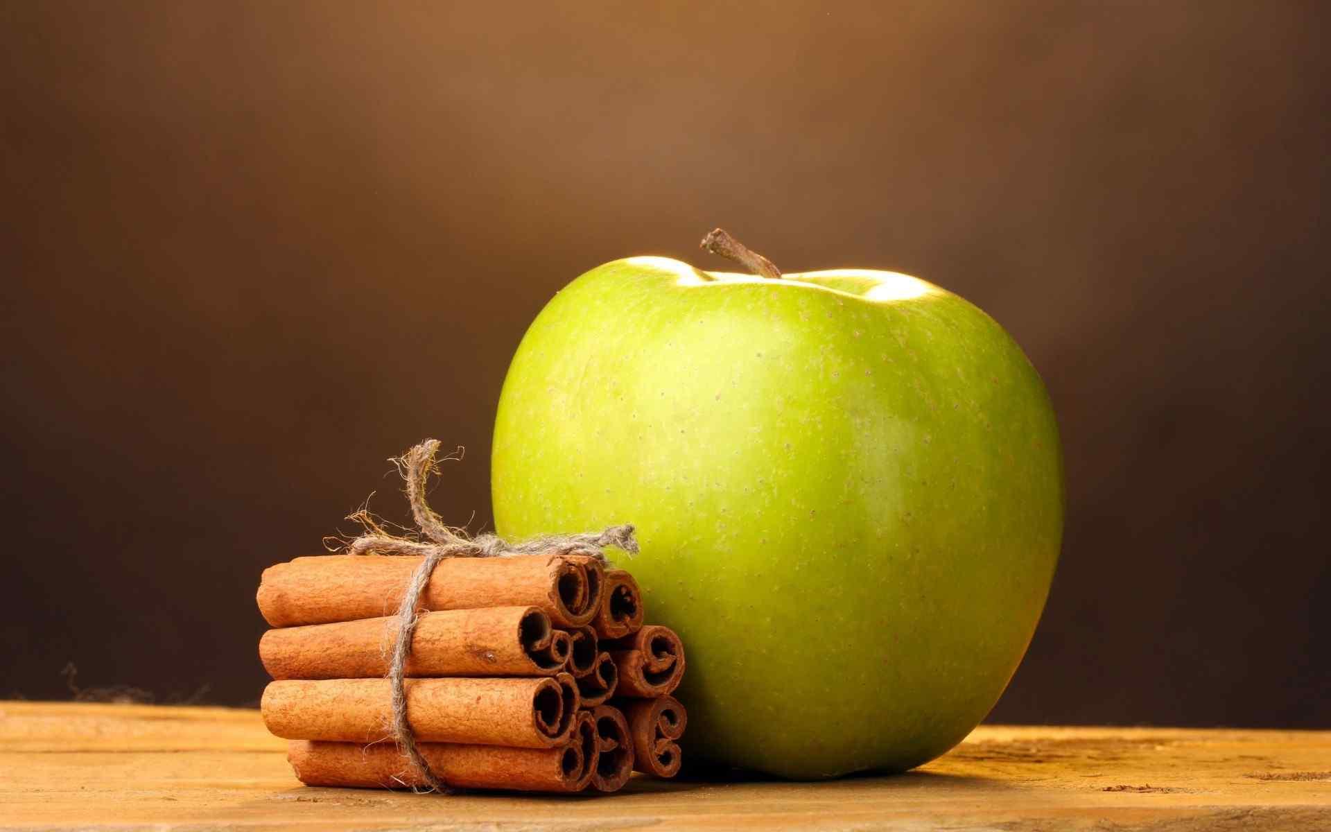 夏季水果青苹果唯