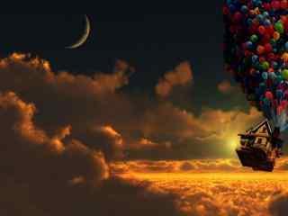 超美气球飞屋高清