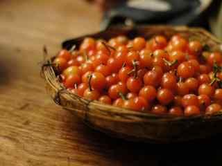 家乡的樱桃熟了唯美图片桌面壁纸
