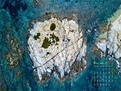 2018年8月日历壁纸唯美海岛鸟瞰风景壁纸