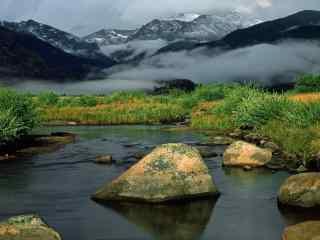 幻如仙境的山水桌