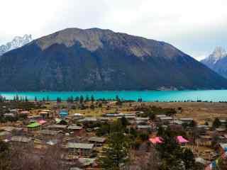 唯美西藏巴松措冬
