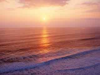 巴厘岛唯美黄昏景