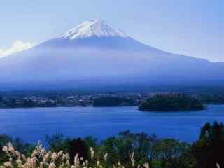 日本富士山自然风