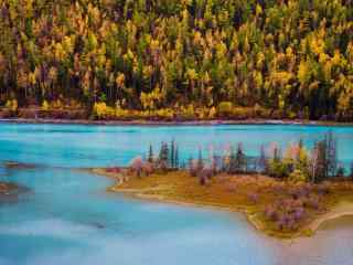 新疆喀纳斯湖风景