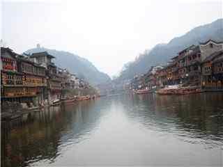 旅游胜地湖南凤凰高清摄影壁纸