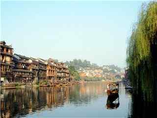 湖南湘西凤凰古城风景电脑壁纸