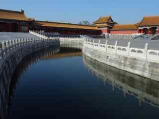 北京故宫内河景观