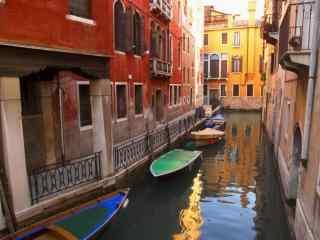 意大利风光水上城