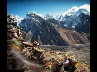 西藏风景之雪山高清电脑壁纸