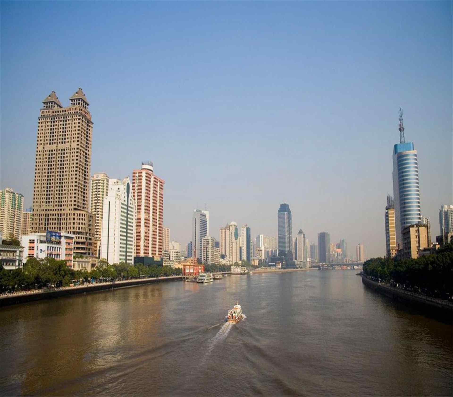 羊城广州城市风景图片电脑桌面壁纸高清