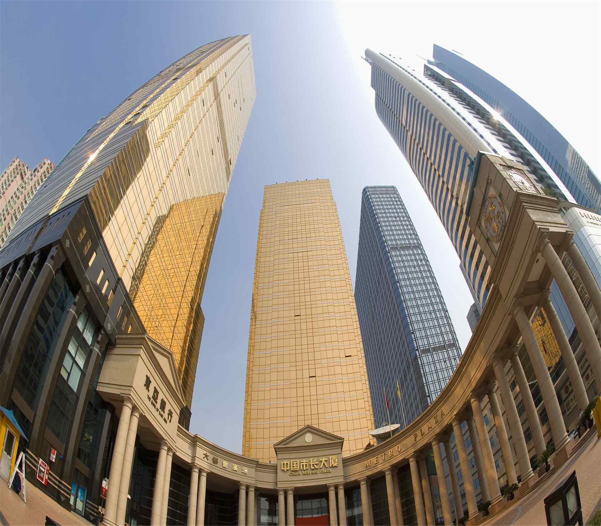 镜头下的广州高楼美景图片下载