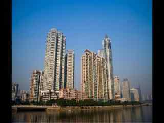 羊城广州城市高楼