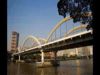 羊城广州城市跨河