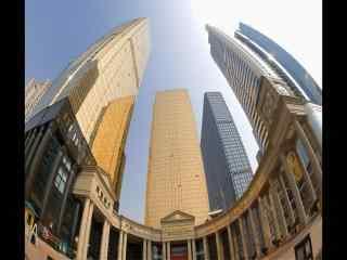 镜头下的广州高楼