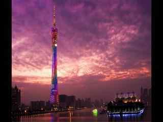 广州塔小蛮腰夜景