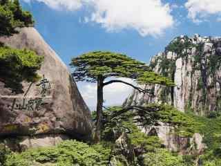 黄山国家地质公园风景桌面壁纸