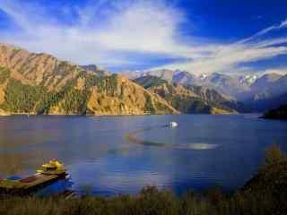 新疆天山天池风景桌面壁纸 第七辑 智慧
