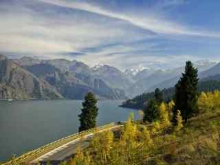新疆天山天池风景桌面壁纸 第六辑 关心