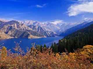 新疆天山天池风景桌面壁纸 第五辑 安好