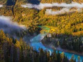 天山以北无限风光 新疆喀纳斯风景壁纸第一辑