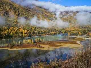 人间仙境神秘天堂 新疆喀纳斯风景壁纸第三辑